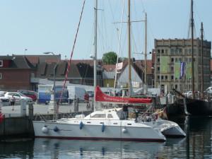 Kumari Liegeplatz im Eckernförder Hafen
